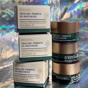 3x Biossance Squalane Probiotic Moisturizer 3mL